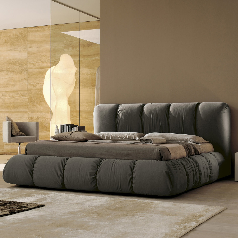 Letti Matrimoniali Design Outlet: Noah sand fabric chaise end sofa ...
