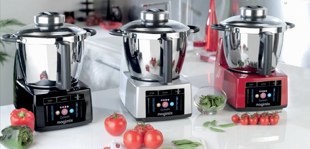 Magimix Food Processor Cook Expert Red, multifunctional food ...