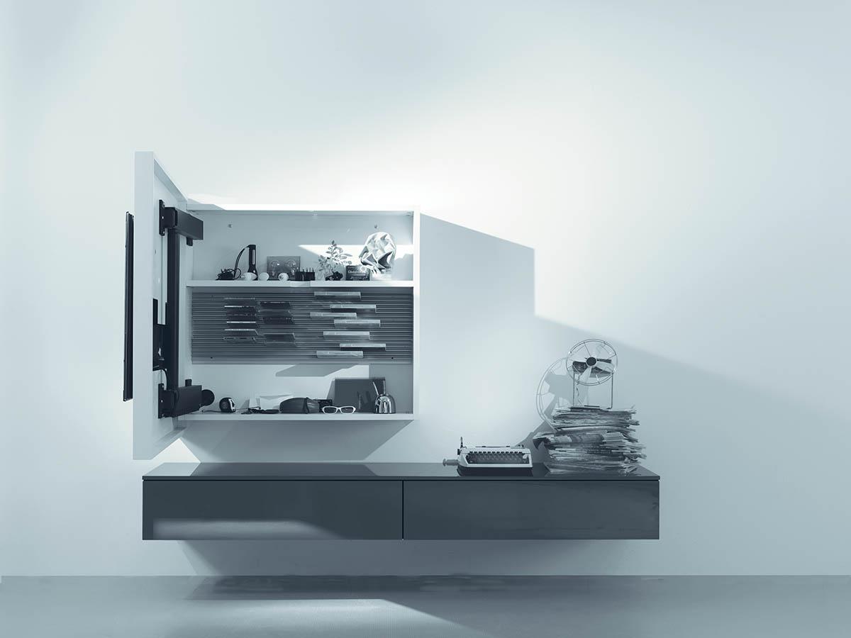Tv Stand Fimar Rack 3, Newformsdesign | TV Stands | Newformsdesign