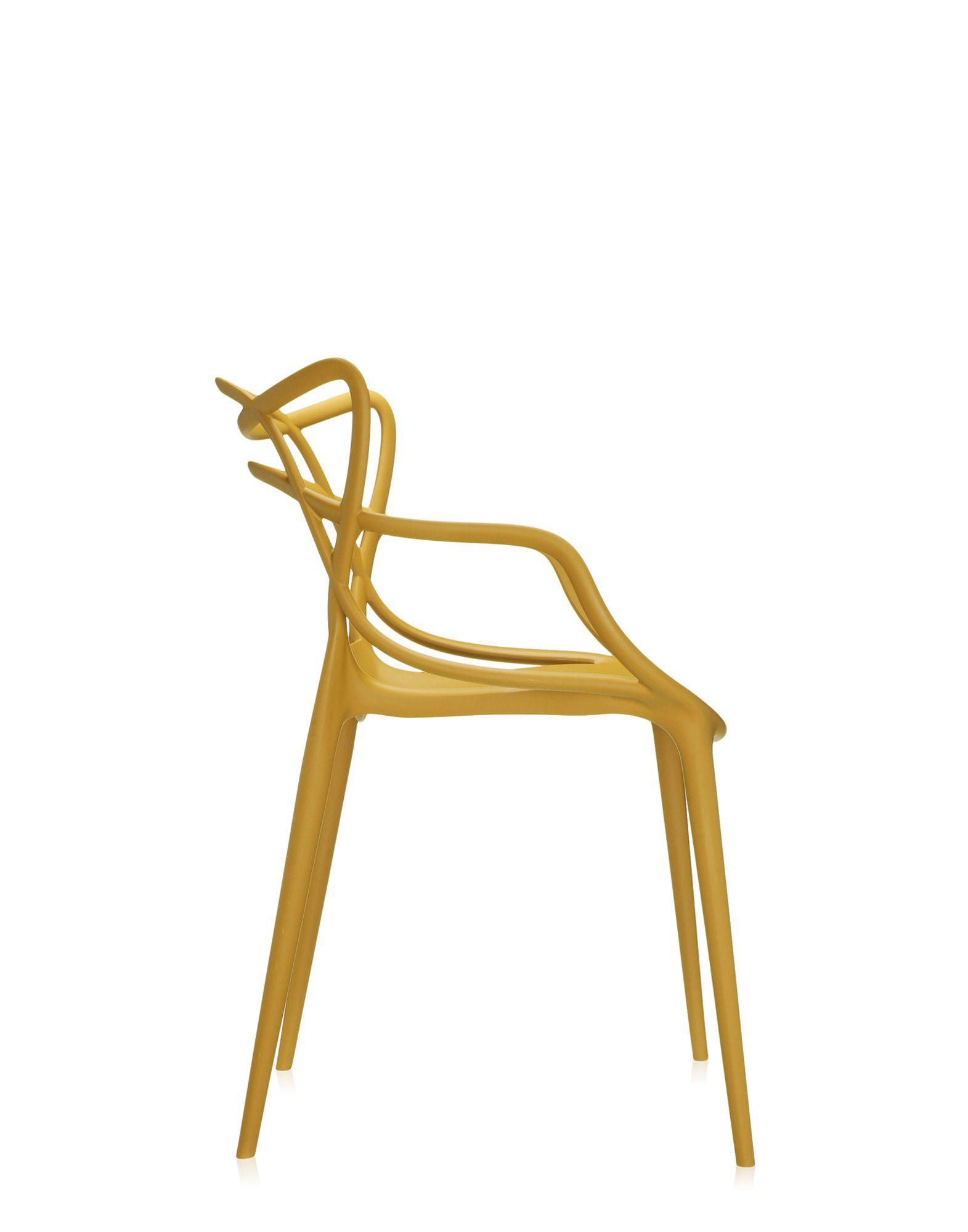 Kartell chair Masters mustard | Design Chairs | Newformsdesign