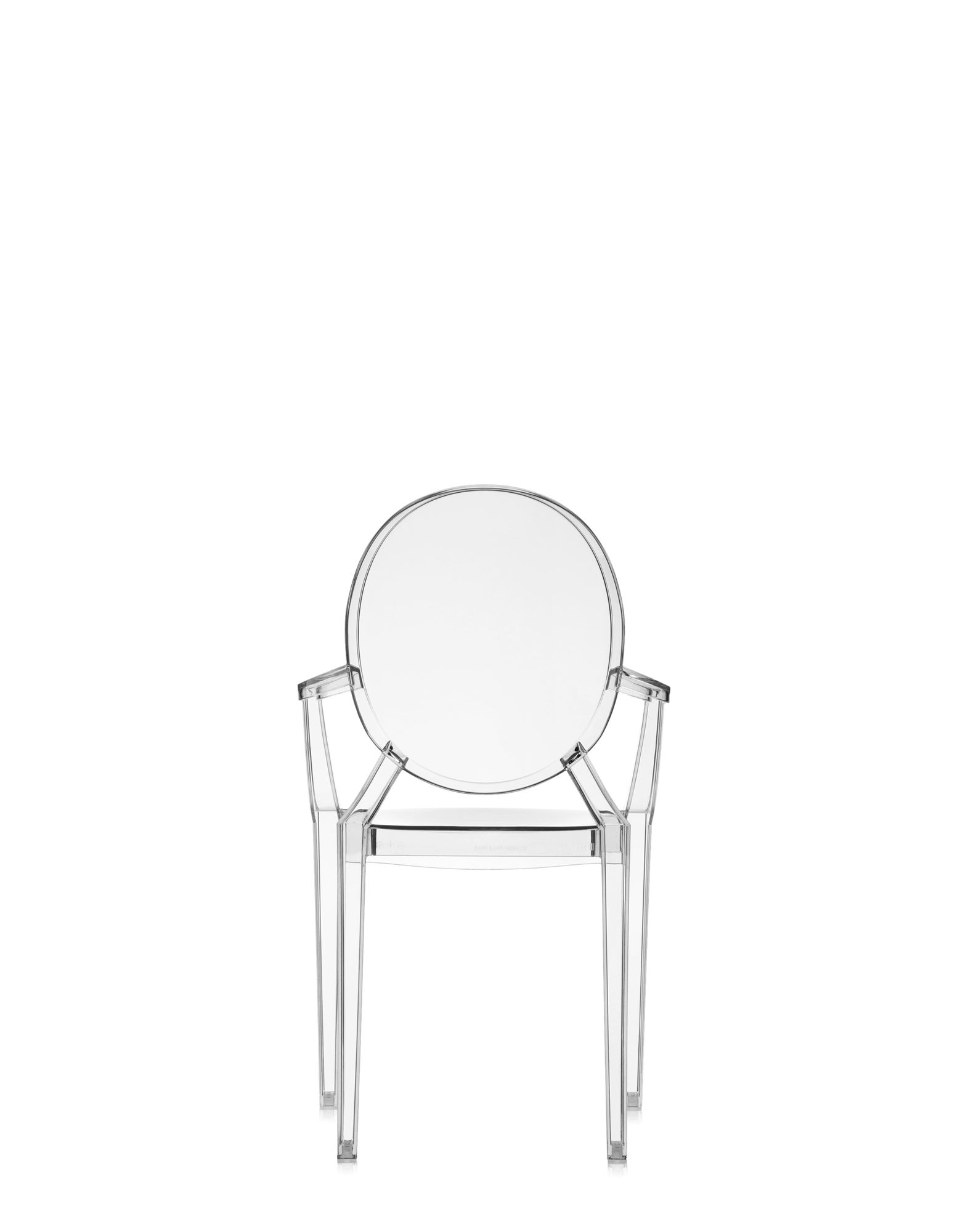 Kartell chair Lou Lou Ghost crystal | Design Chairs | Newformsdesign