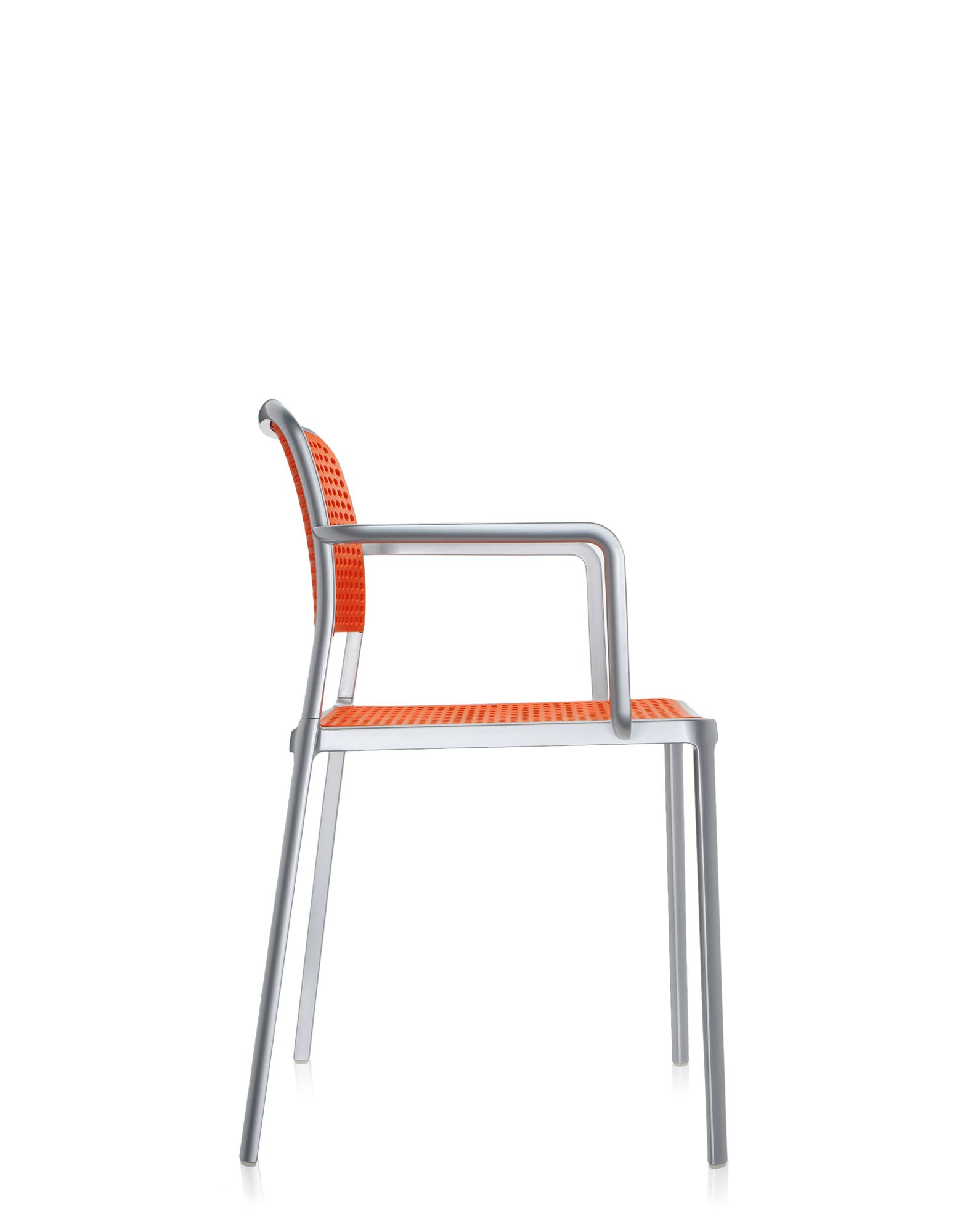 ... Kartell Audrey Orange Polished Aluminum ...
