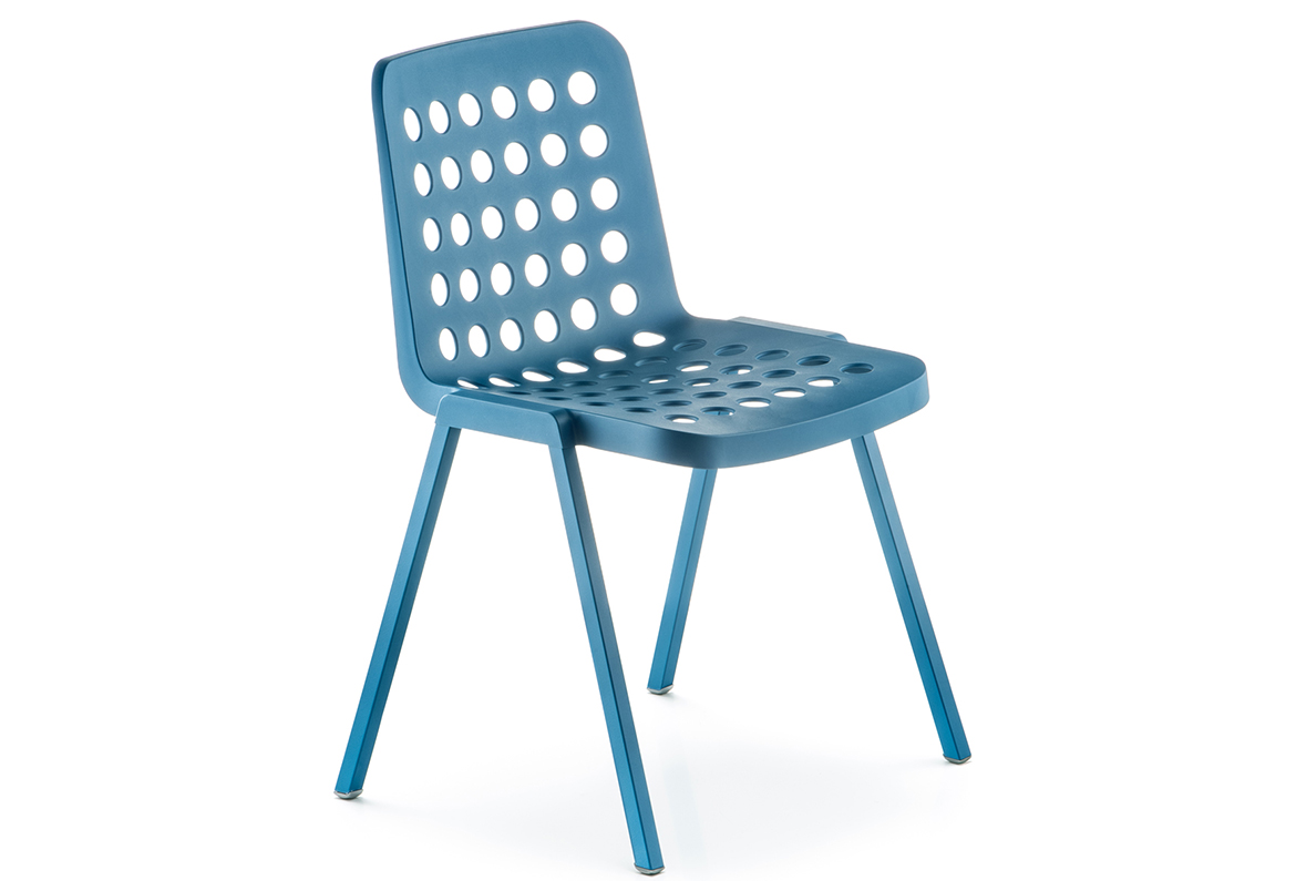 Pedrali chair Koi-Booki 370 light blue
