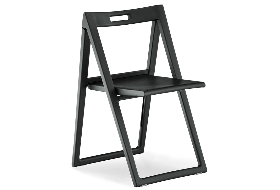 Pedrali folding chair 460 Enjoy black