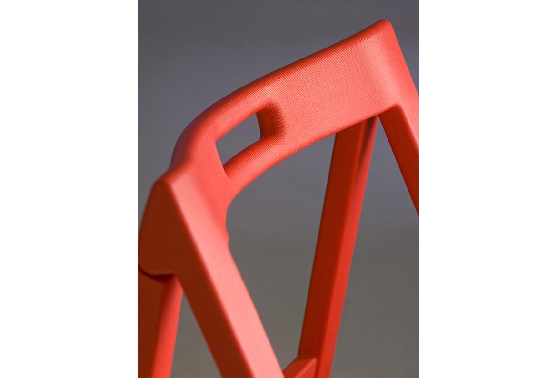 Pedrali sedia pieghevole Enjoy 460 rossa | Sedie ...