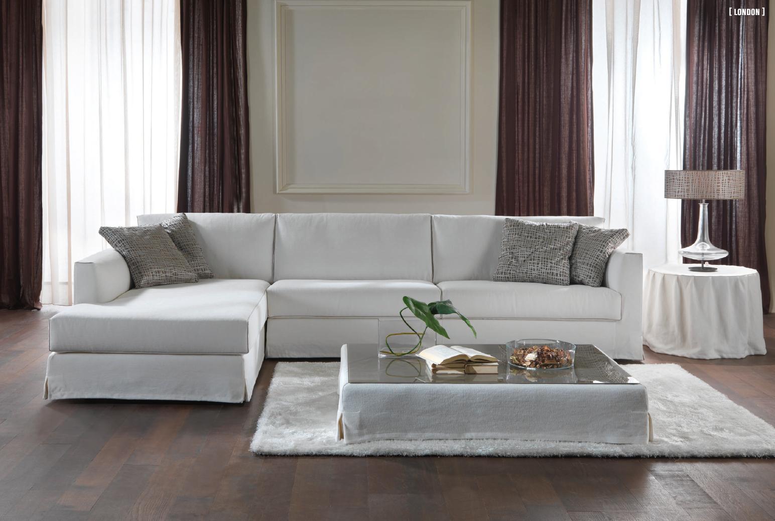 Divano moderno monaco divani moderni salotti divani e for Salotti moderni prezzi
