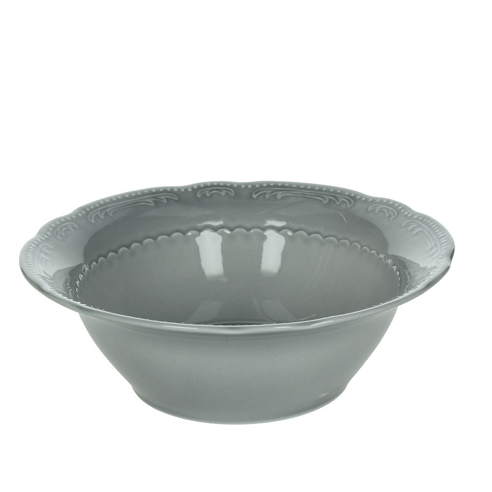 Tognana charme collection salad bowl london grey 20 cm H 7 cm