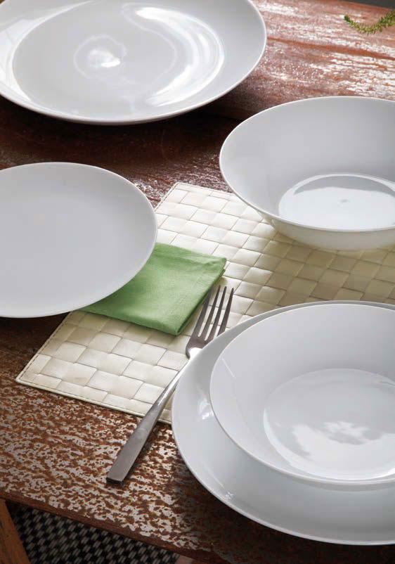Servizio piatti 18 pezzi andrea fontebasso collezione sfera bianco newformsdesign piatti e - Servizio piatti design ...