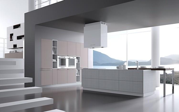 Cucina modello venice cucine moderne cucine su misura for Arredo giardino mestre