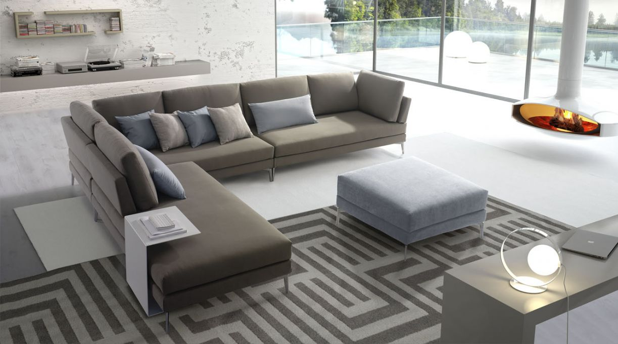 Divano moderno Confort Line Mood Angolare, Newformsdesign | Divani Moderni  | Newformsdesign