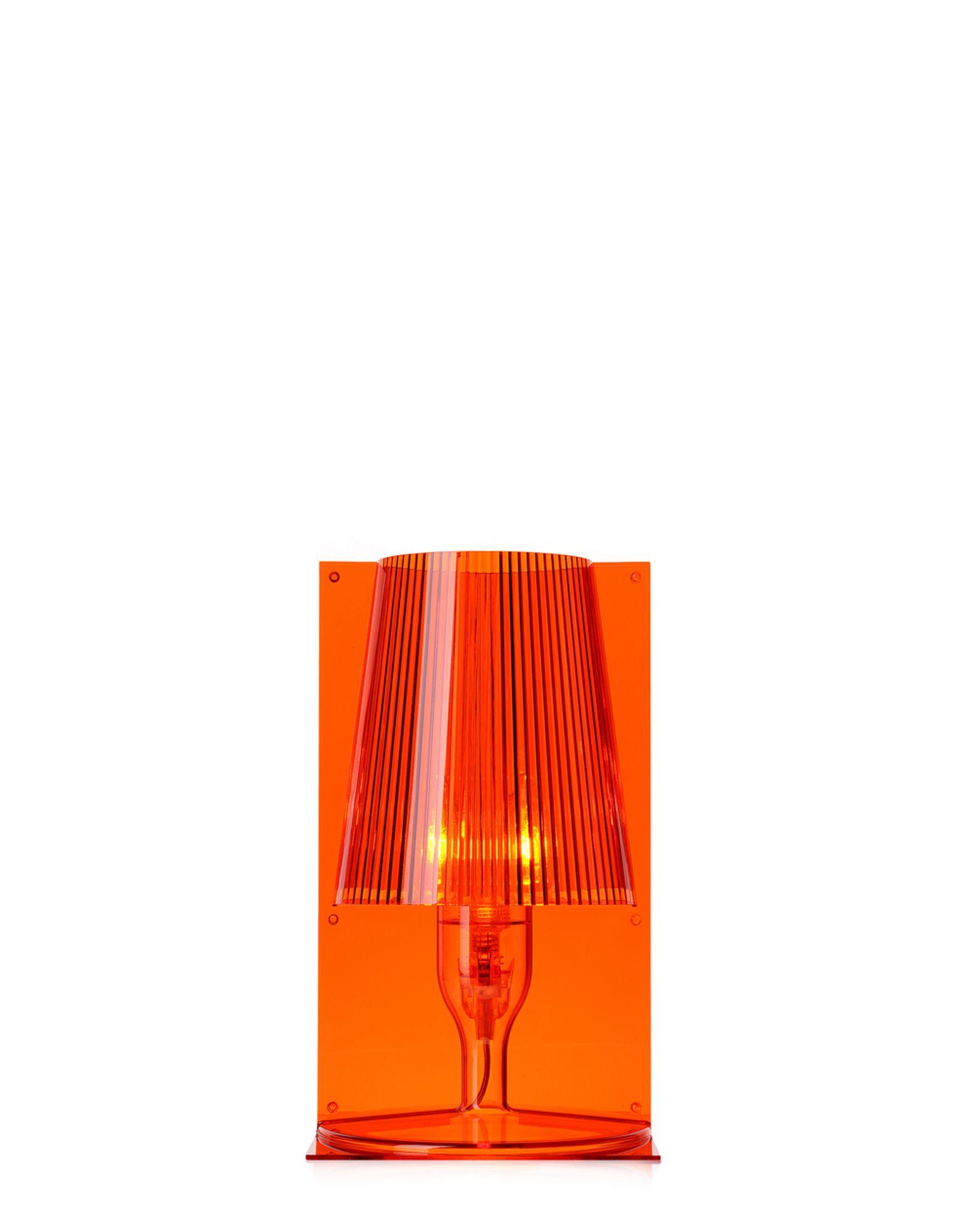 Lampada Comodino Take Kartell : Kartell lampada da tavolo take arancio newformsdesign