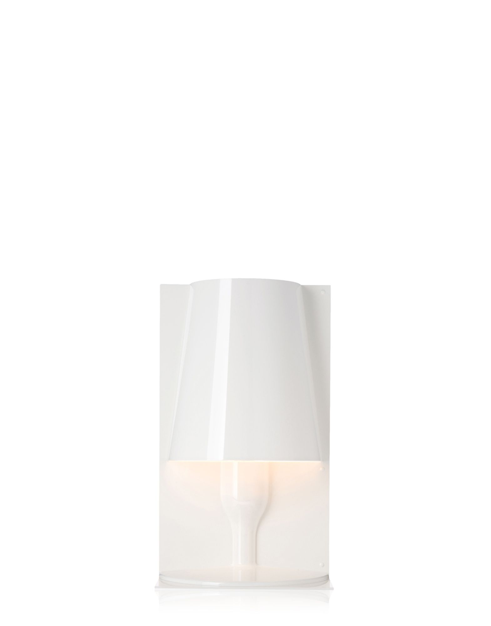 Kartell table lamp 9050 Take white