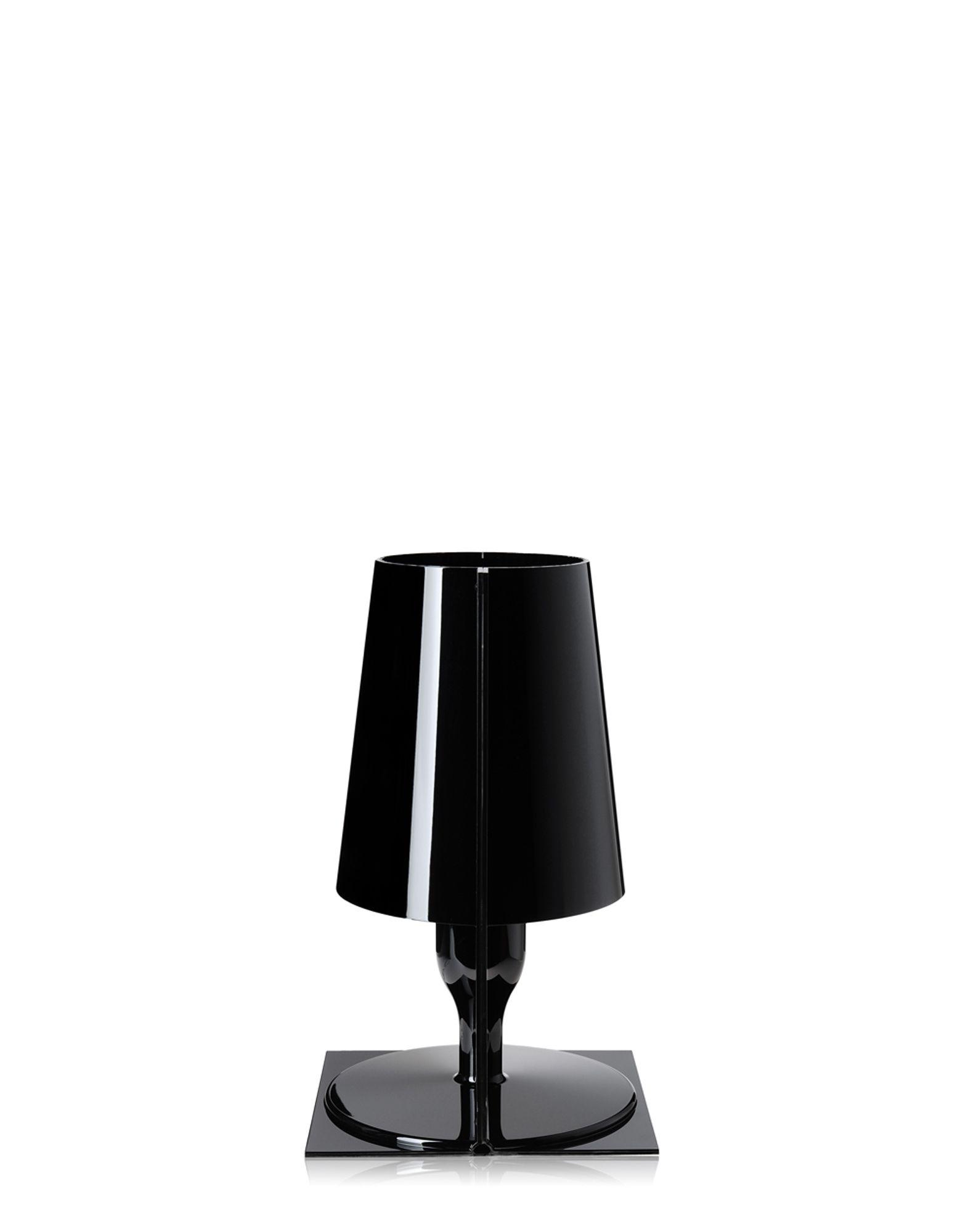 Kartell lampada da tavolo Take nero, Newformsdesign | lampade da ...