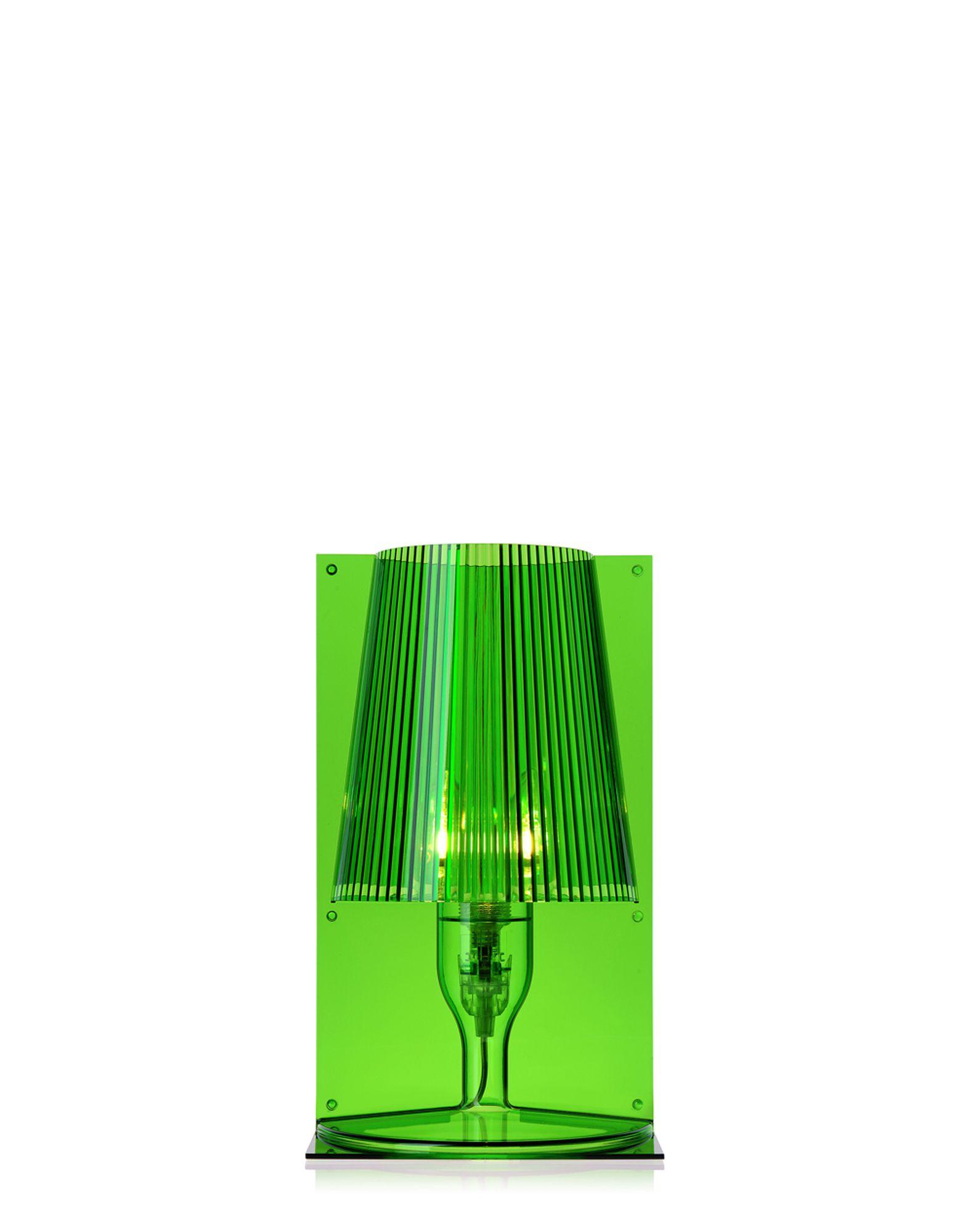 Kartell lampada da tavolo Take verde, Newformsdesign  lampade da tavolo  Ne...