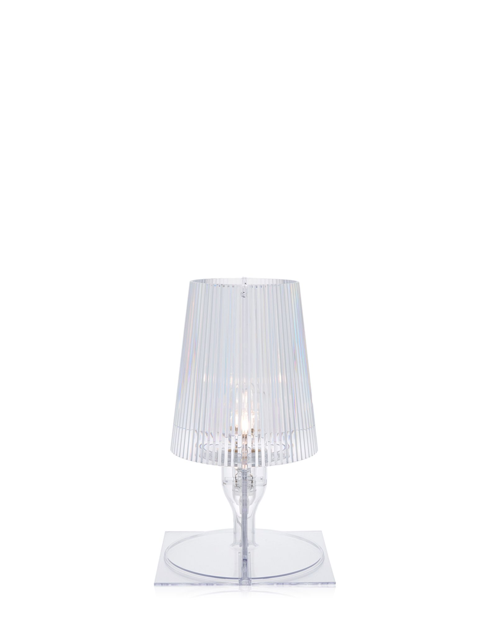Kartell lampada da tavolo Take cristallo, Newformsdesign | Lampade ...