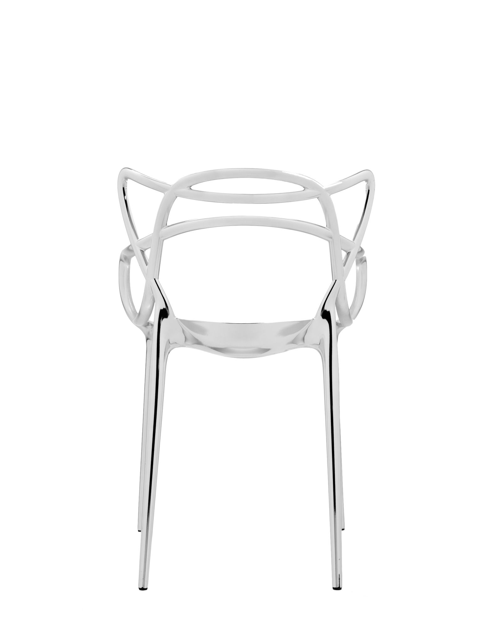 Kartell chair Masters chrome