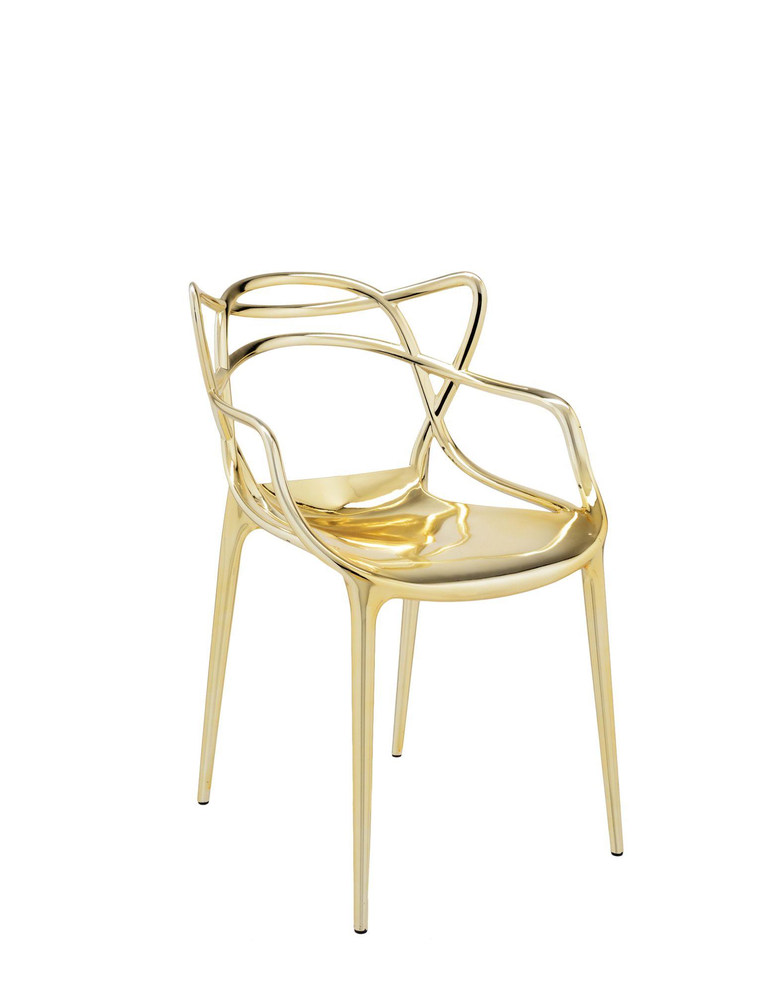 Kartell masters oro sedie sedie design sedie moderne for Sedia design kartell