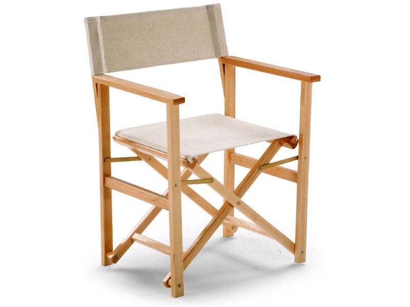 Sedia peighevole regista modello fellini sedia pieghevole for Sedie richiudibili