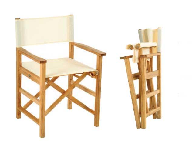 Sedia peighevole regista modello fellini sedia pieghevole for Sedia regista ikea