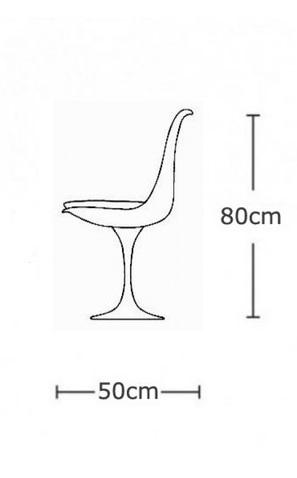 Replica Eero Saarinen Tulip Chair Sedia Sedie Tavoli E