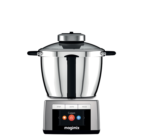 Cooks Brand Small Appliances ~ Magimix food processor cook expert chrome multifunction