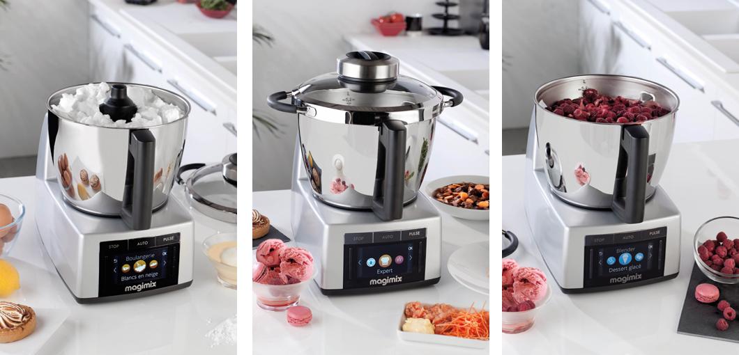Robot da cucina magimix cook expert nero robot da cucina - Elettrodomestici piccoli da cucina ...