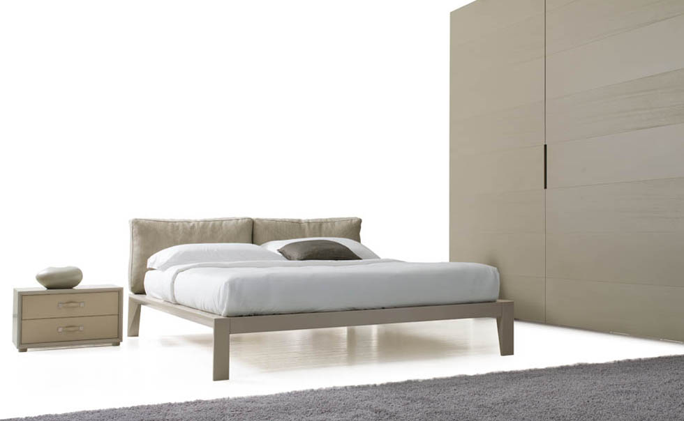 Mobilform wooden bed Ascot