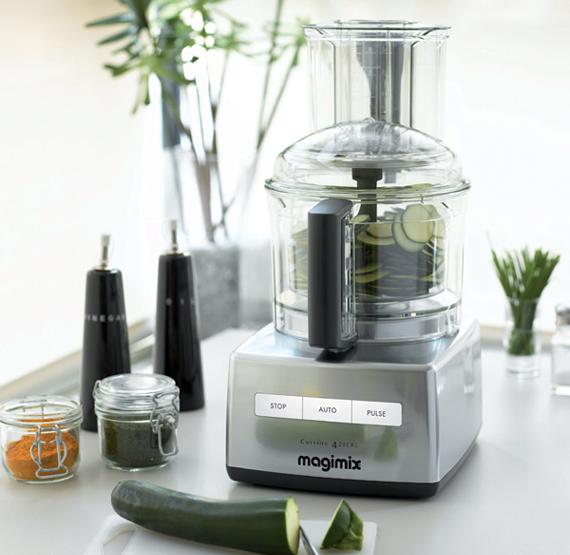 Magimix food processor compact 4200 xl chrome for Cuisine 4200 magimix