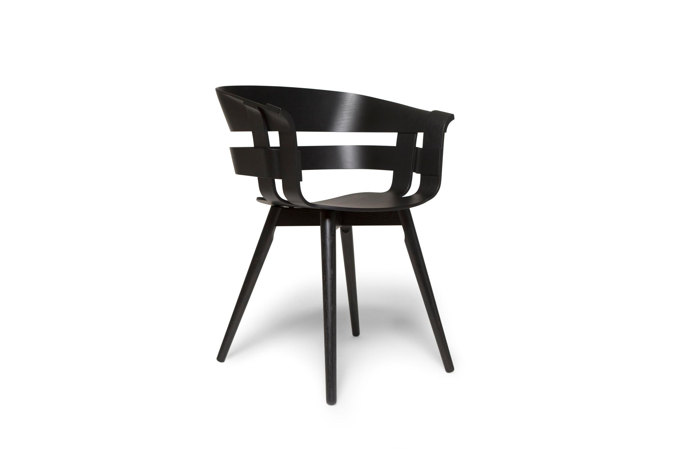 Design house stockholm wick chair black seat