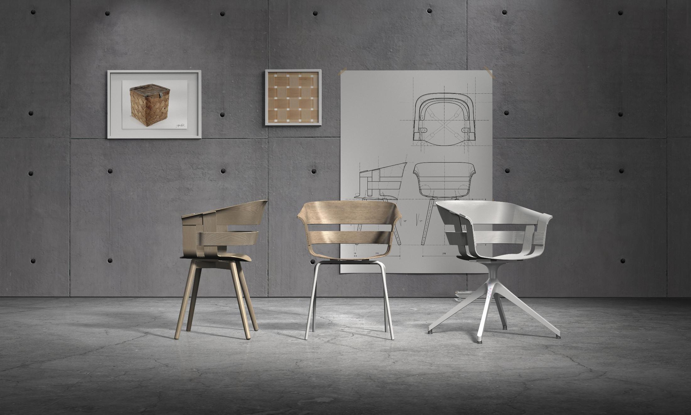 Sedie Bianche Design : Design house stockholm sedia seduta frassino gambe bianche