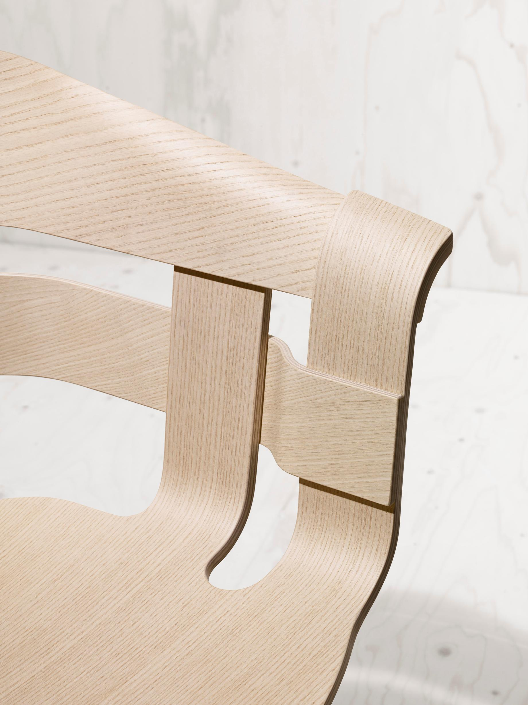 Design House Stockholm Wick chair ash seat ash legs
