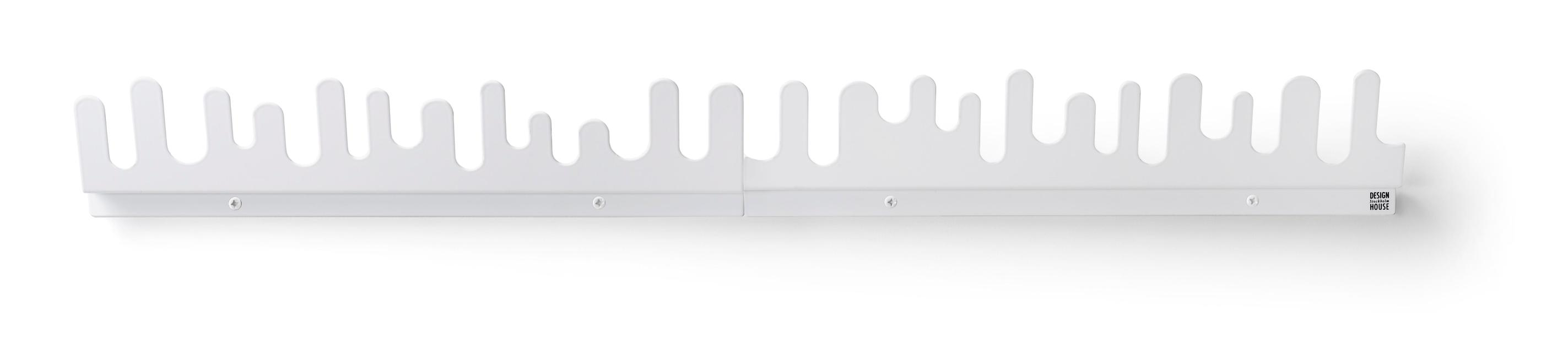 Design House Stockholm Wave Hanger appendiabiti Bianco