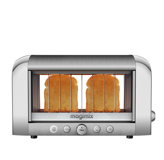 Magimix Vision Toaster Chrome 11538 Newformsdesign