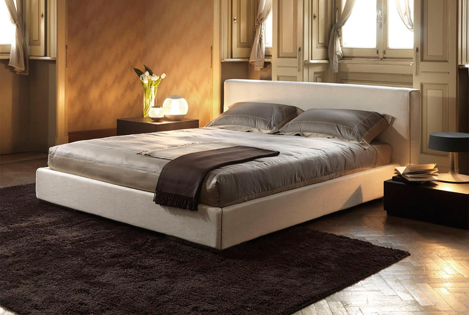 Letti Contenitore Design : Letto herry imbottito letti letti design letti moderni letti