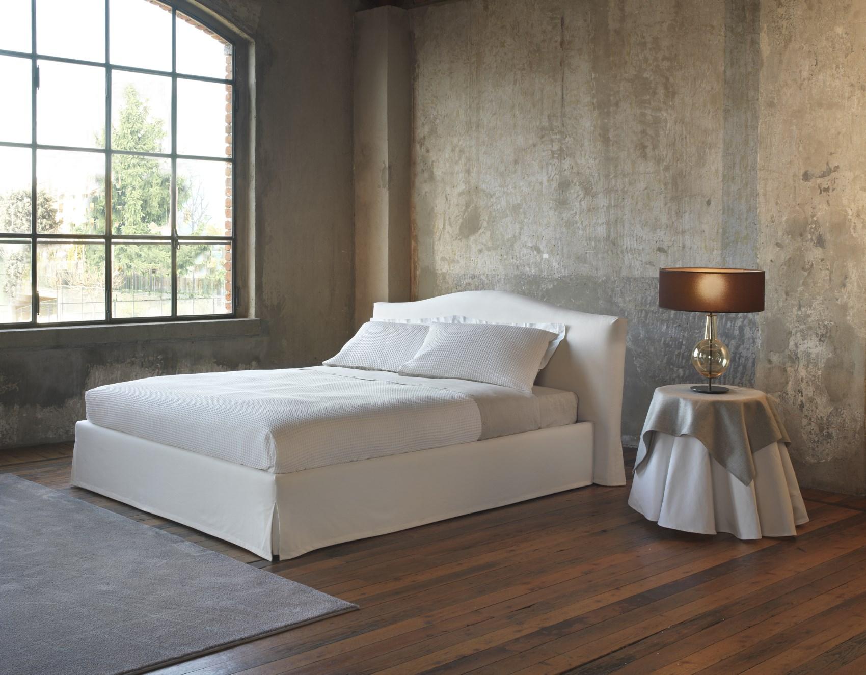 Letti Contenitore Design : Letto albenga imbottito letti letti design letti moderni letti