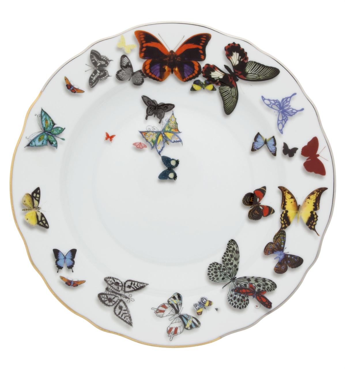 Vista Alegre Collection Butterfly soup plate by Christian Lacroix  sc 1 st  Newformsdesign & Vista Alegre Collection Butterfly soup plate by Christian Lacroix ...