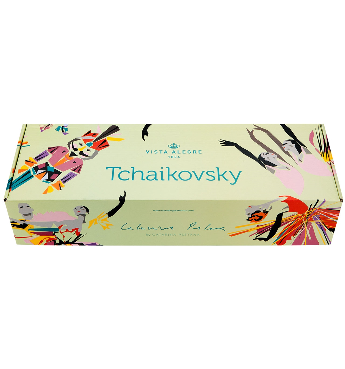 Vista Alegre Collection Tchaikovsky set 4 coffee cups and saucers