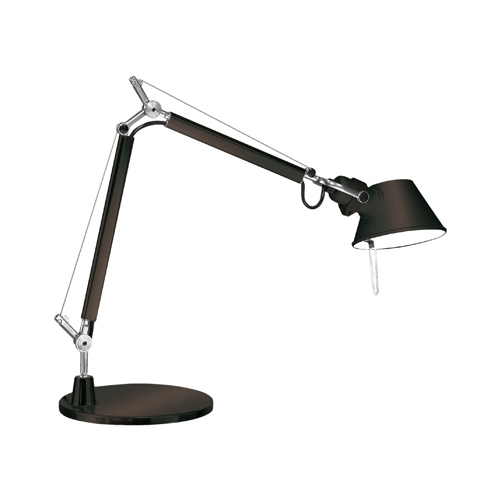 table lamp artemide tolomeo micro black newformsdesign. Black Bedroom Furniture Sets. Home Design Ideas