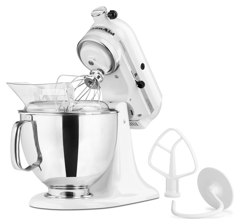 Kitchenaid 5k45ssewh Kitchen Robot White Newformsdesign