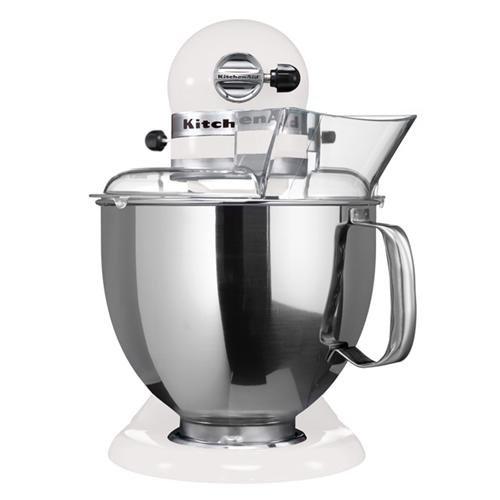 KitchenAid 5K45SSEWH Robot da Cucina Bianco, Newformsdesign ...
