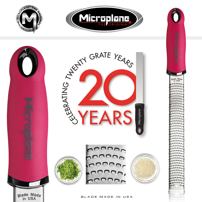 Microplane Grater 46920 zester Premium classic pink