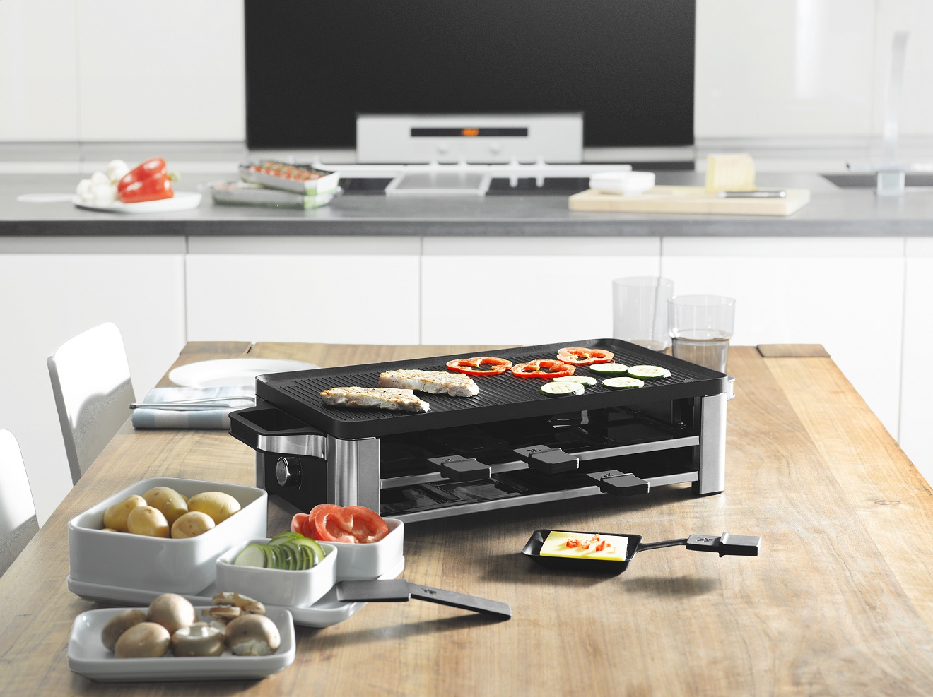 Wmf Lono Raclette Grill Newformsdesign Small Appliances