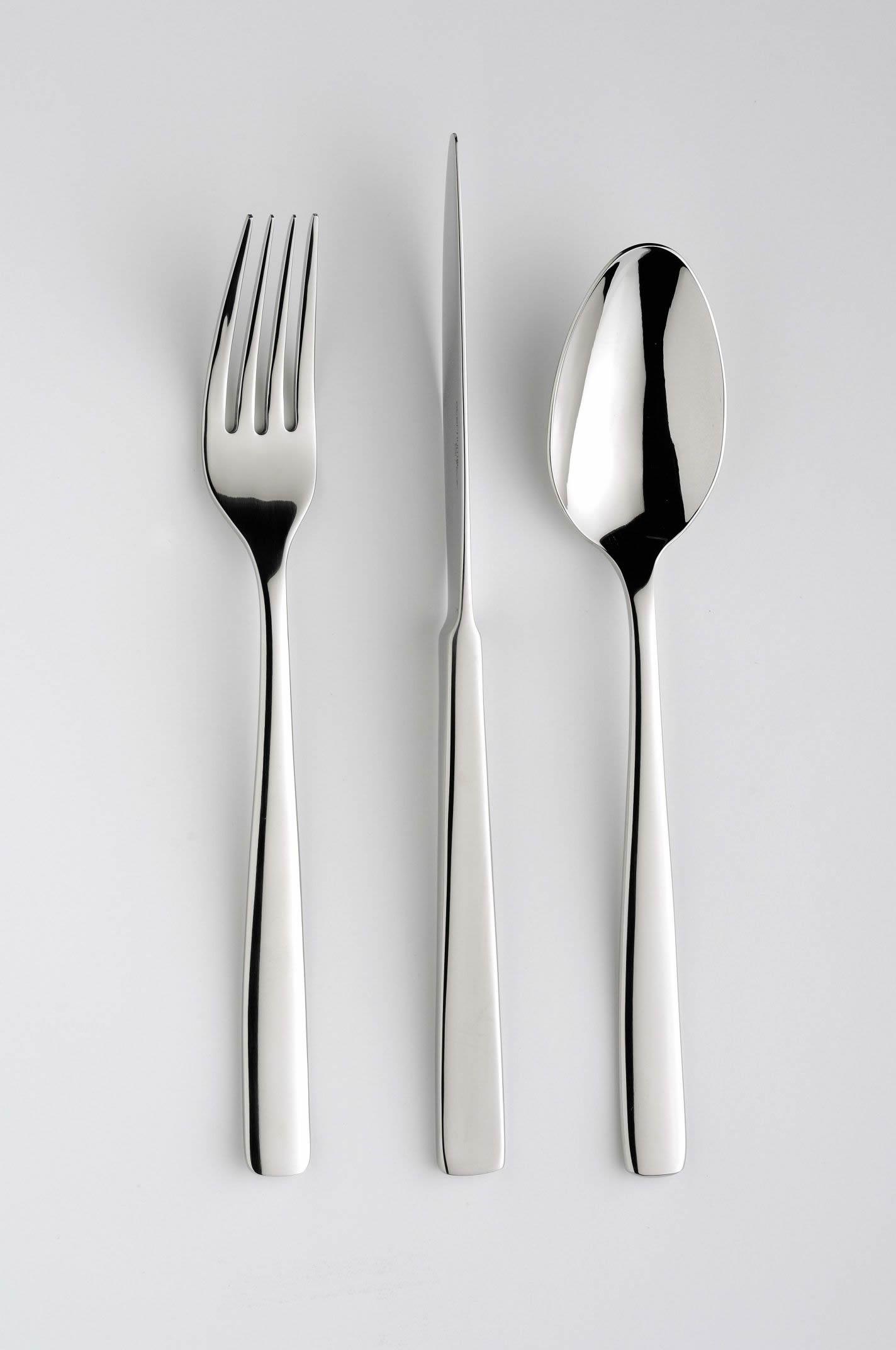 Service flatware atlantis newformsdesign cutlery sets