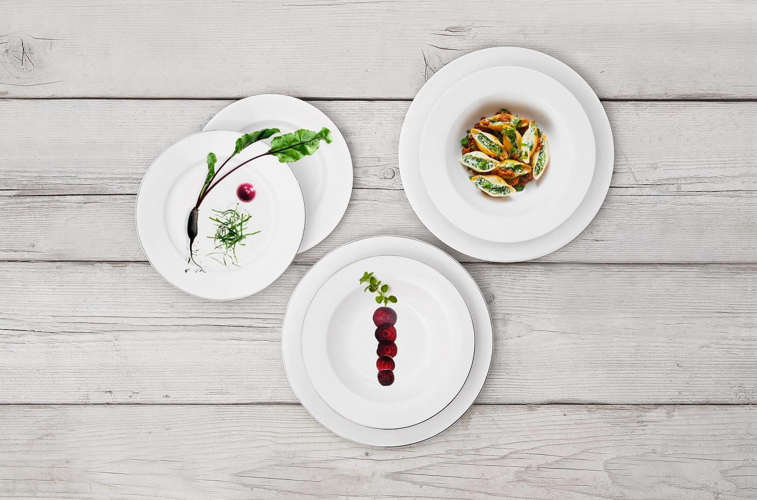 Servizio piatti 12 pezzi l abitare fiesole newformsdesign piatti e servizio piatti - Servizio piatti design ...