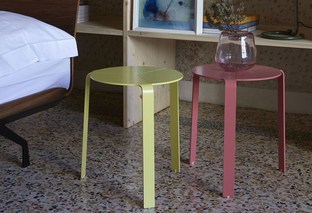 Palette sgabello tavolino comodino newformsdesign