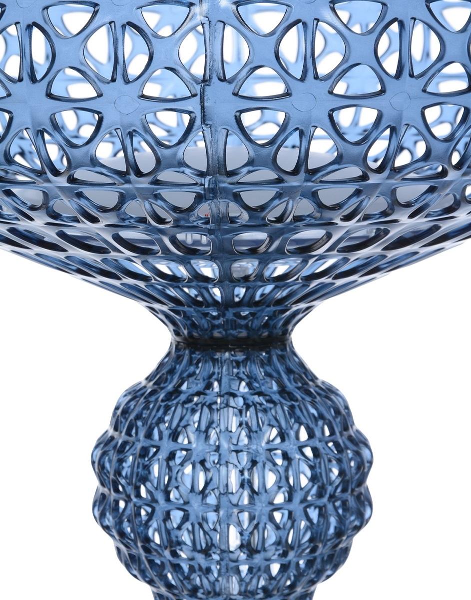 Floor Lamp Kartell Kabuki Blue Newformsdesign Floor Lamps
