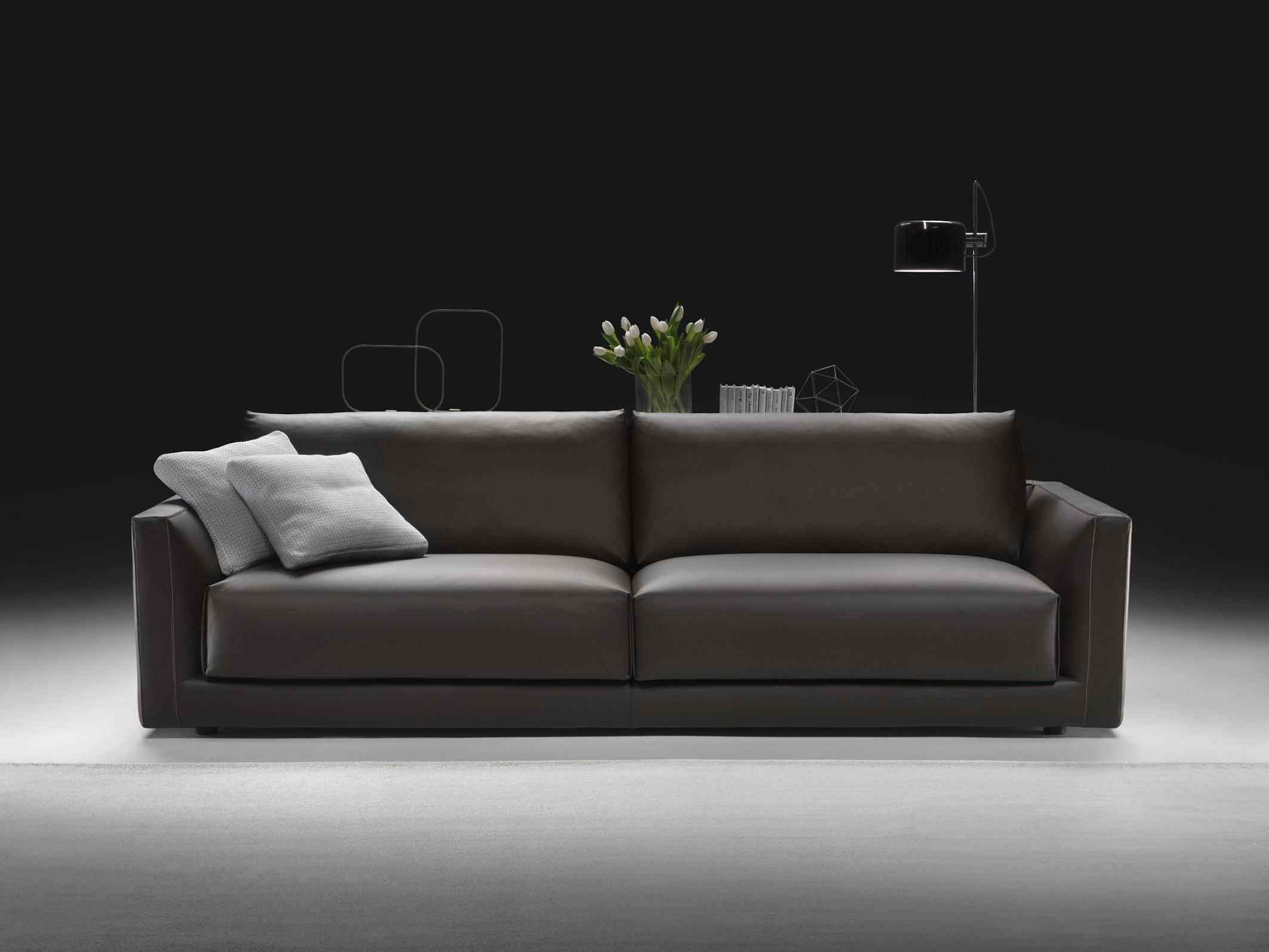 divano pelle soma made in italy divano moderno