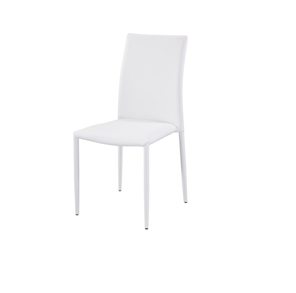Modern Chair Eco-Leather White