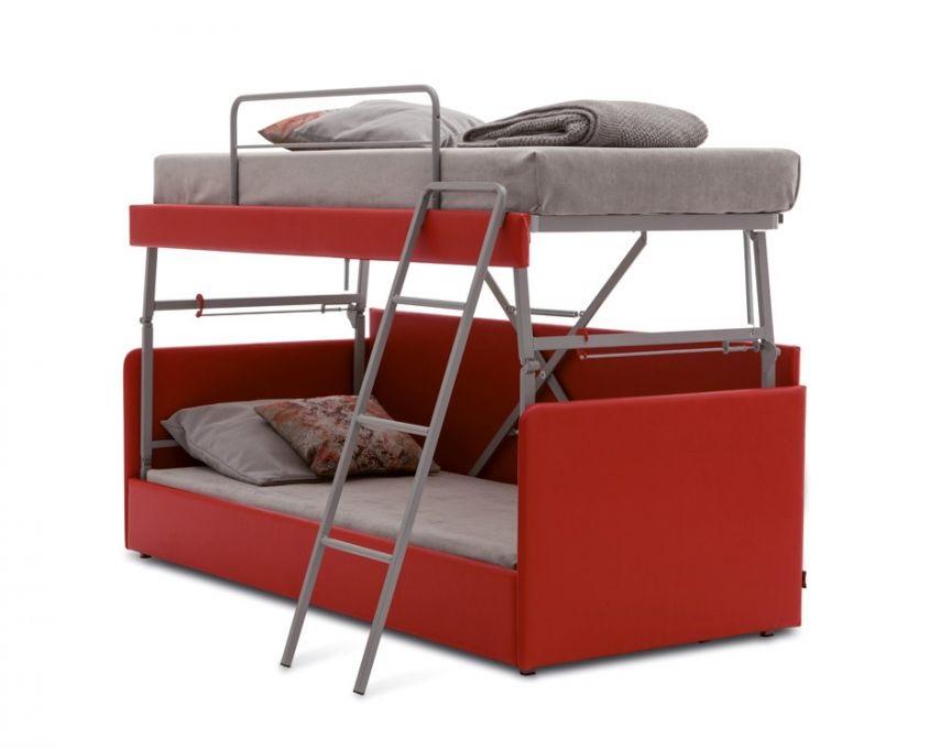 Divano letto a castello confort line duplex - Divano che diventa letto a castello ...