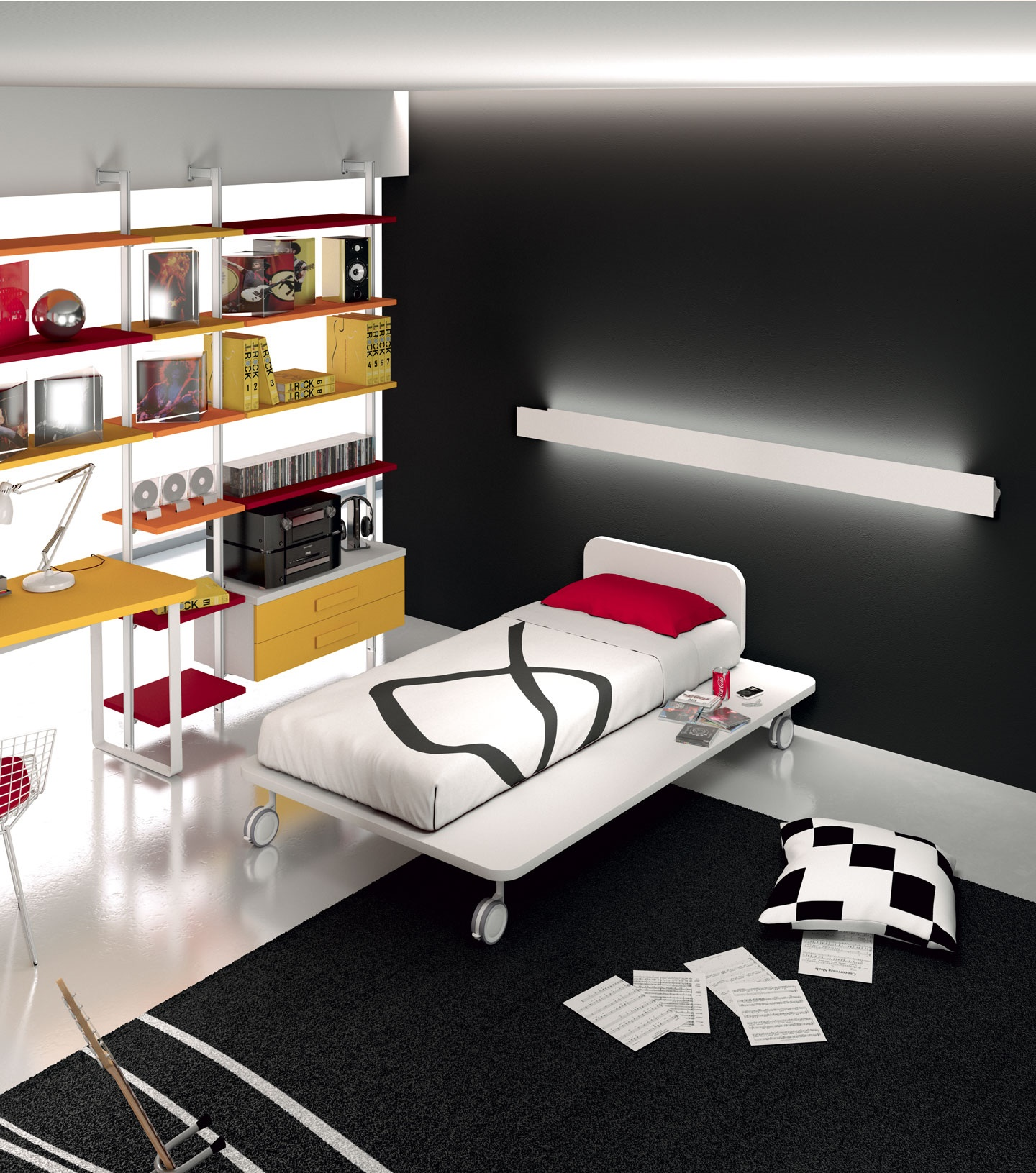 Children 39 s rooms made in italy ima mobili composition 1 - Mobili made in italy ...